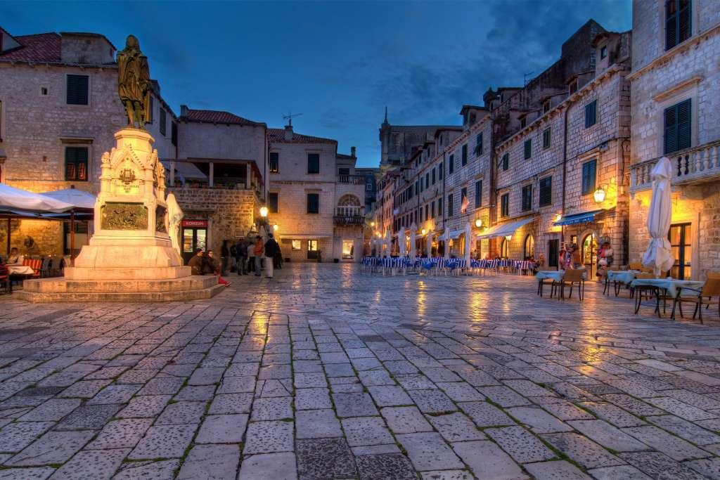 Dubrovnik Old Town main street